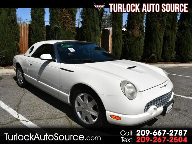 2003 Ford Thunderbird Deluxe with removable top