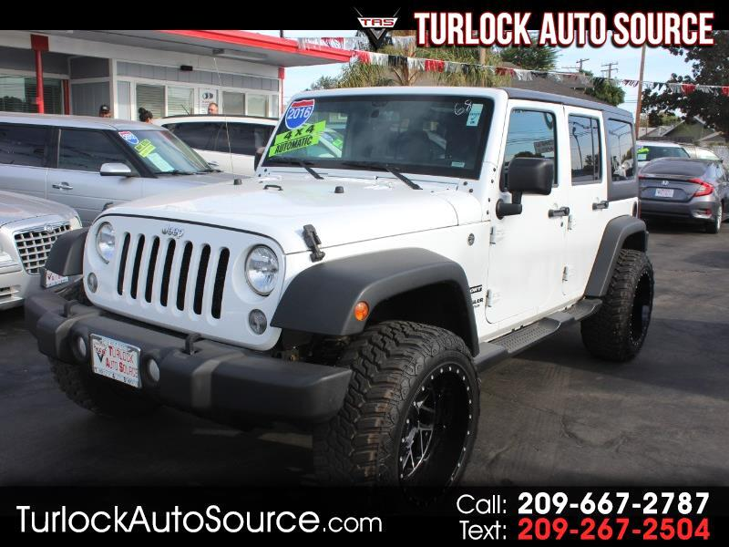 2016 Jeep Wrangler Unlimited Sport 4WD