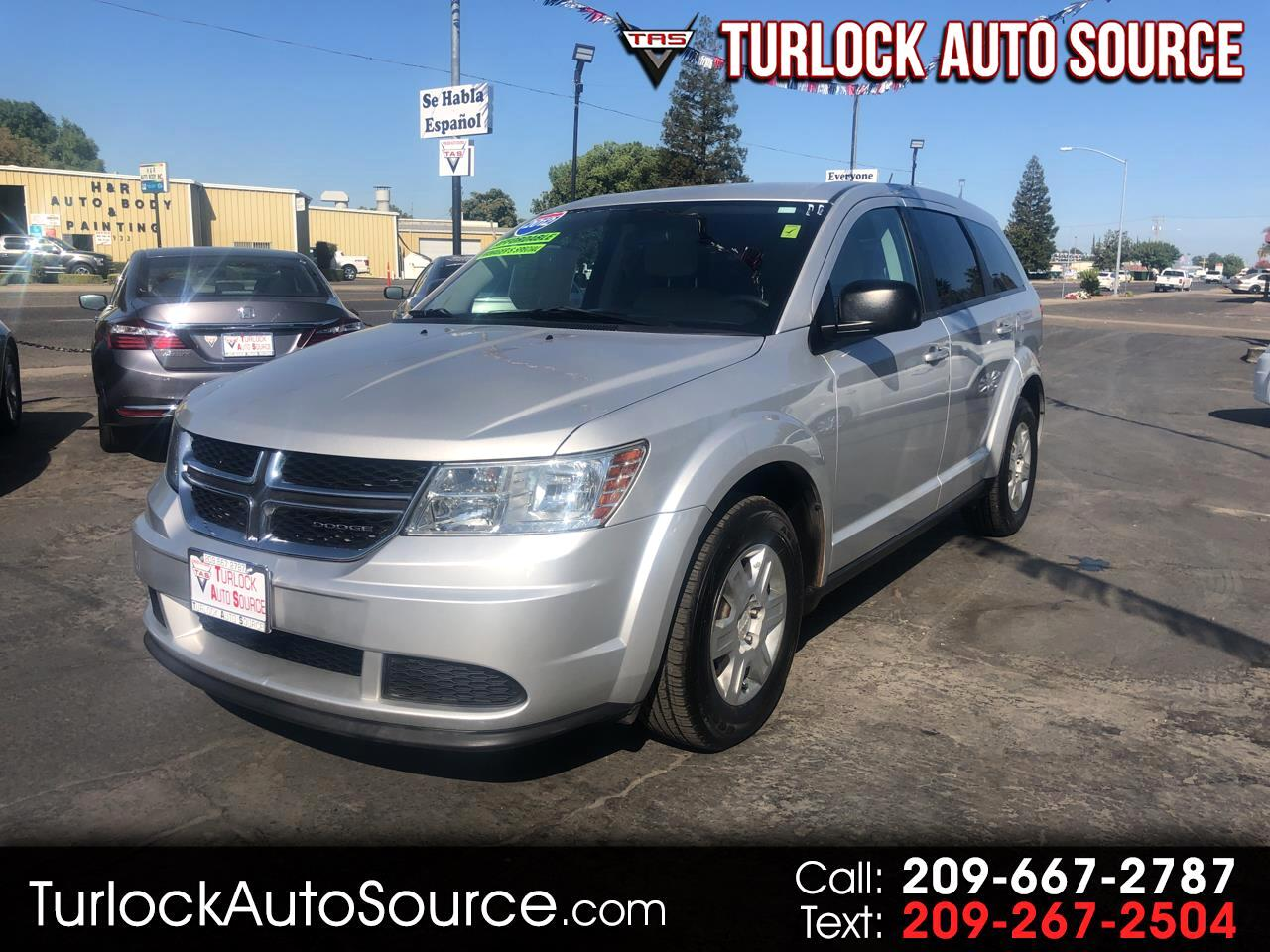 2012 Dodge Journey FWD 4dr American Value Pkg