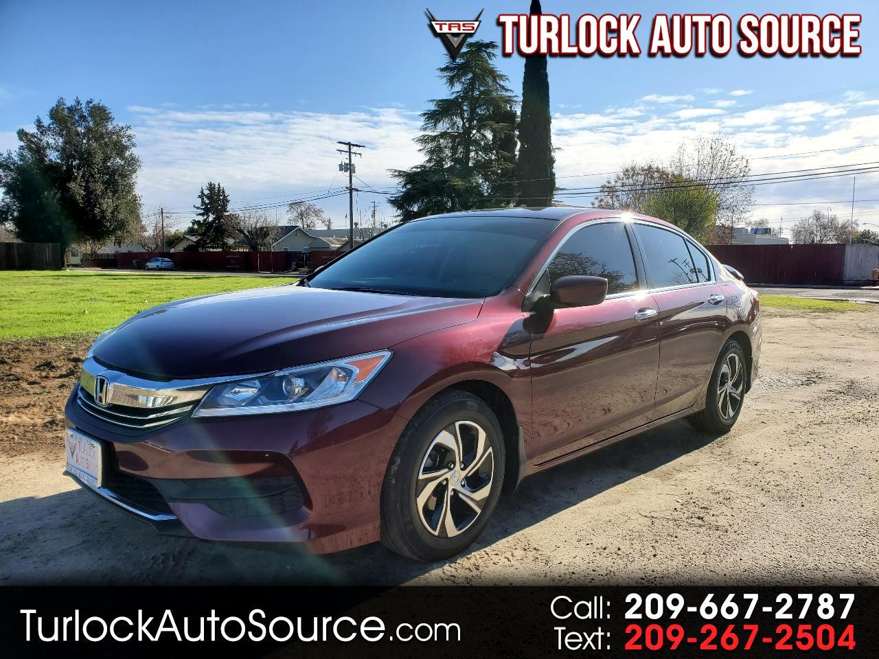 Honda Accord Sedan 4dr I4 CVT LX 2016