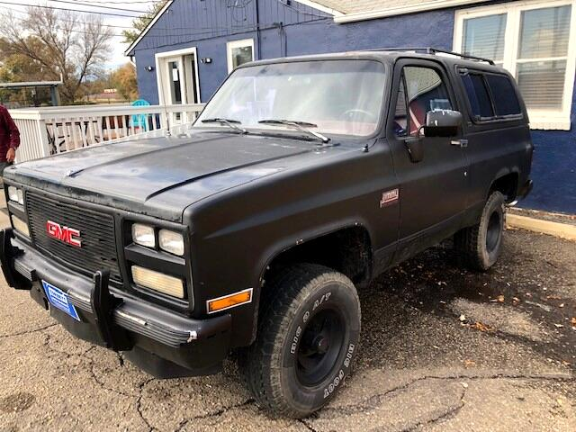 1991 GMC Jimmy 2-Door 4WD