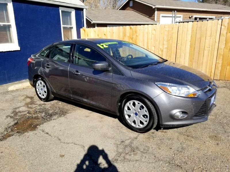 2012 Ford FOCUS SE 4DR AUTO