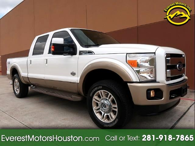 2014 Ford F-250 SD KING RANCH CREW CAB SWB 4WD