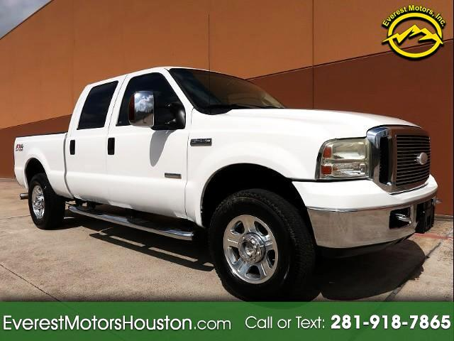 2006 Ford F-250 SD LARIAT CREW CAB SWB 4WD STUDDED