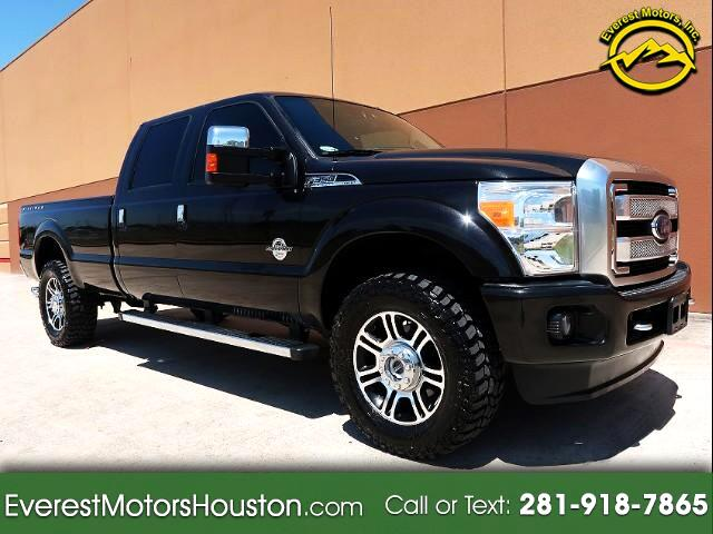 2014 Ford F-350 SD PLATINUM CREW CAB LONG BED 4WD