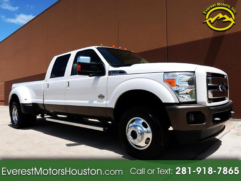 "2016 Ford Super Duty F-350 DRW 4WD Crew Cab 172"" King Ranch"