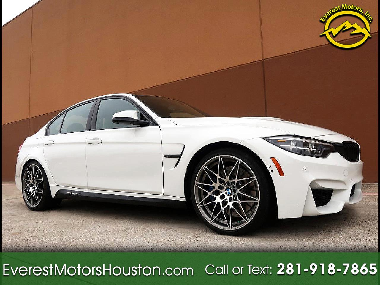 2018 BMW M3 SEDAN COMPETITION PKG EXECUTIVE PKG