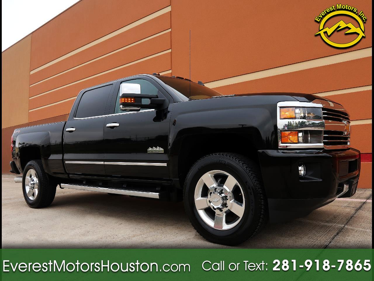 "2016 Chevrolet Silverado 3500HD 4WD Crew Cab 153.7"" High Country"