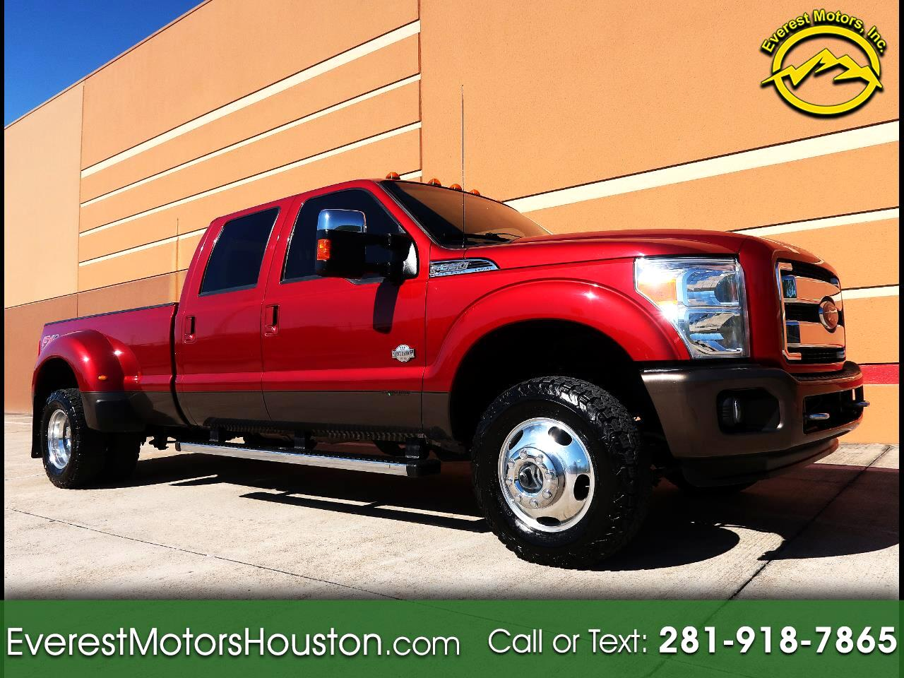 "2015 Ford Super Duty F-350 DRW 4WD Crew Cab 172"" King Ranch"