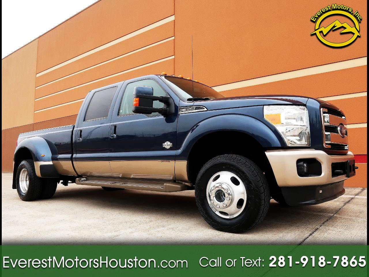 2013 Ford Super Duty F-350 DRW 4WD Crew Cab Dually Long Bed King Ranch
