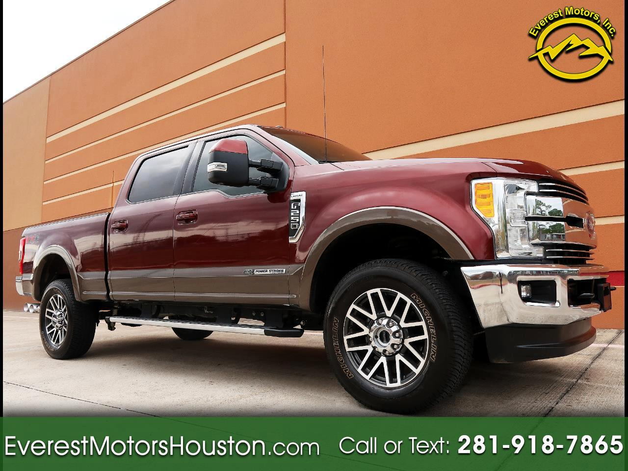 2017 Ford Super Duty F-250 SRW Lariat 4WD Crew Cab Short Bed