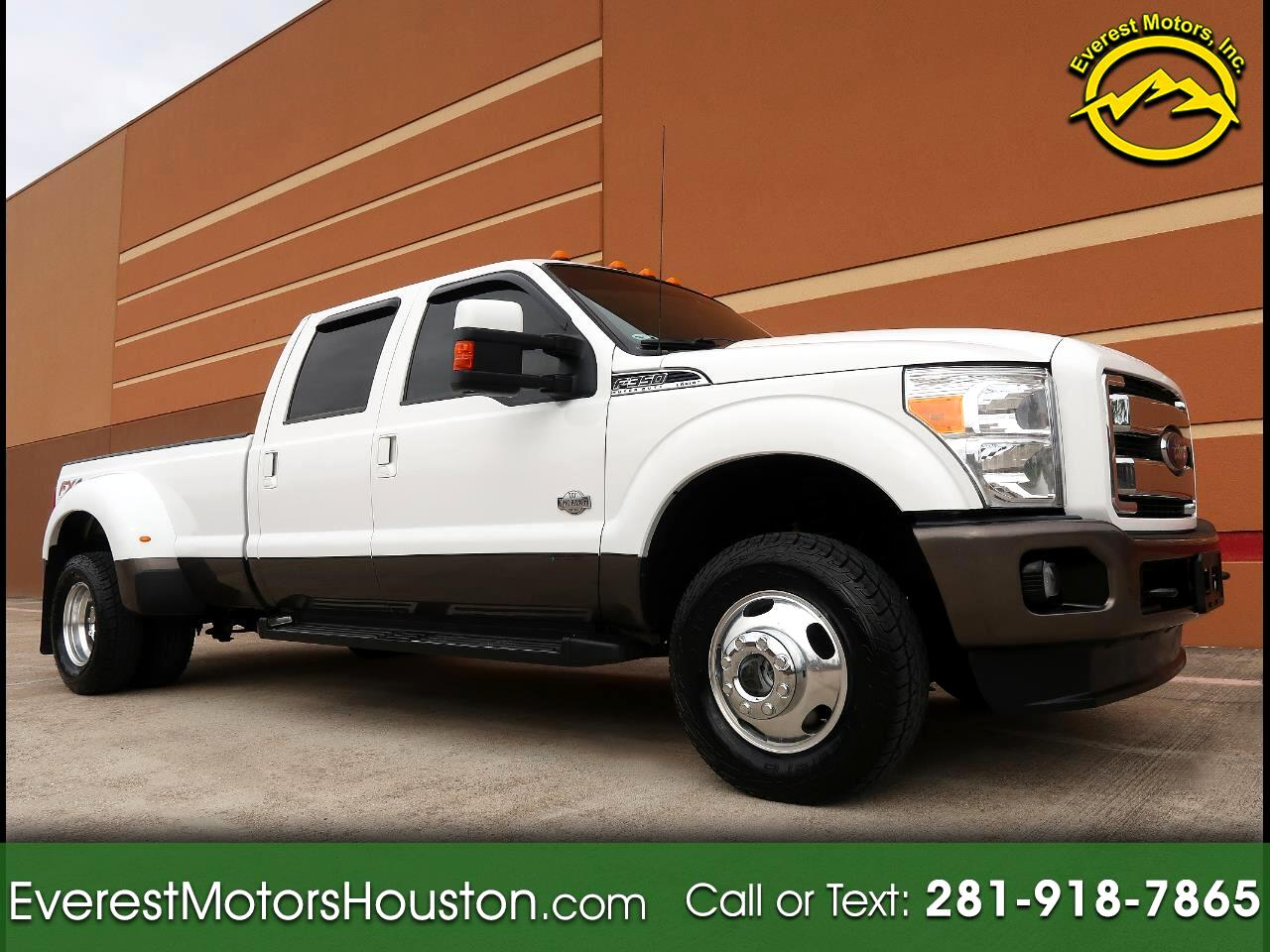 2015 Ford F-350 SD King Ranch Crew Cab Long Bed DRW 4WD