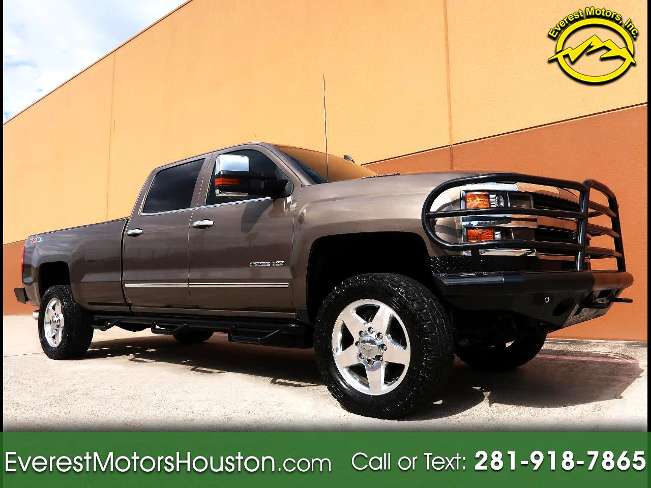 2015 Chevrolet Silverado 2500HD 4WD Crew Cab Long Bed LTZ Z71 1-Owner