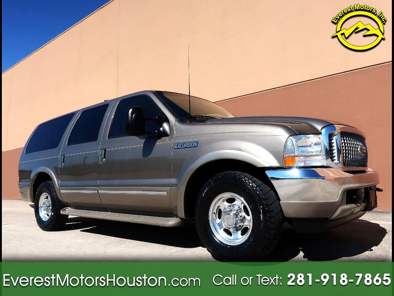 2002 Ford Excursion LIMITED 7.3L DIESEL 2WD 3RD ROW SEAT LOW MILES