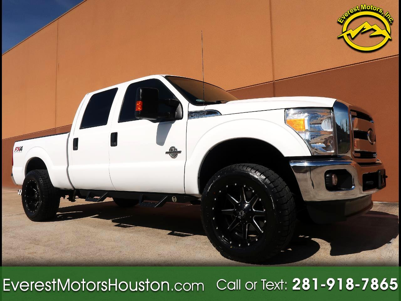 2015 Ford F-250 SD XLT CREW CAB SWB 4WD SRW 1-OWNER LOW MILES