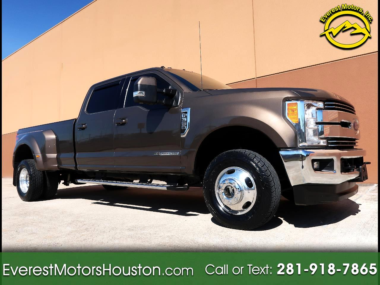 2017 Ford F-350 SD LARIAT CREW CAB LONG BED DUALLY 4WD 1-OWNER