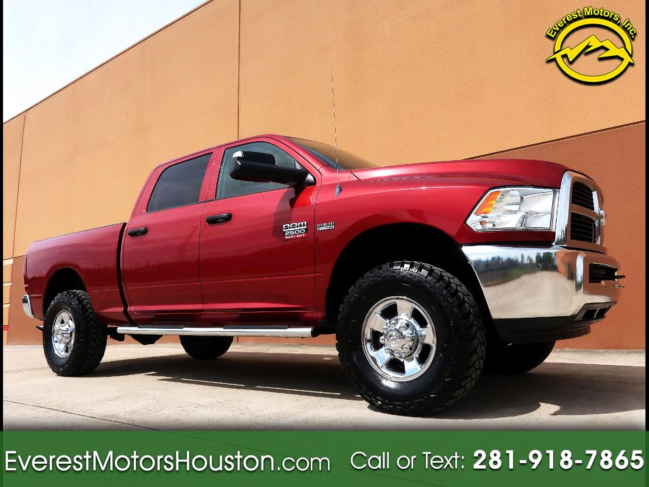 2012 Dodge Ram 2500 ST CREW CAB SHORT BED 4WD 1-OWNER