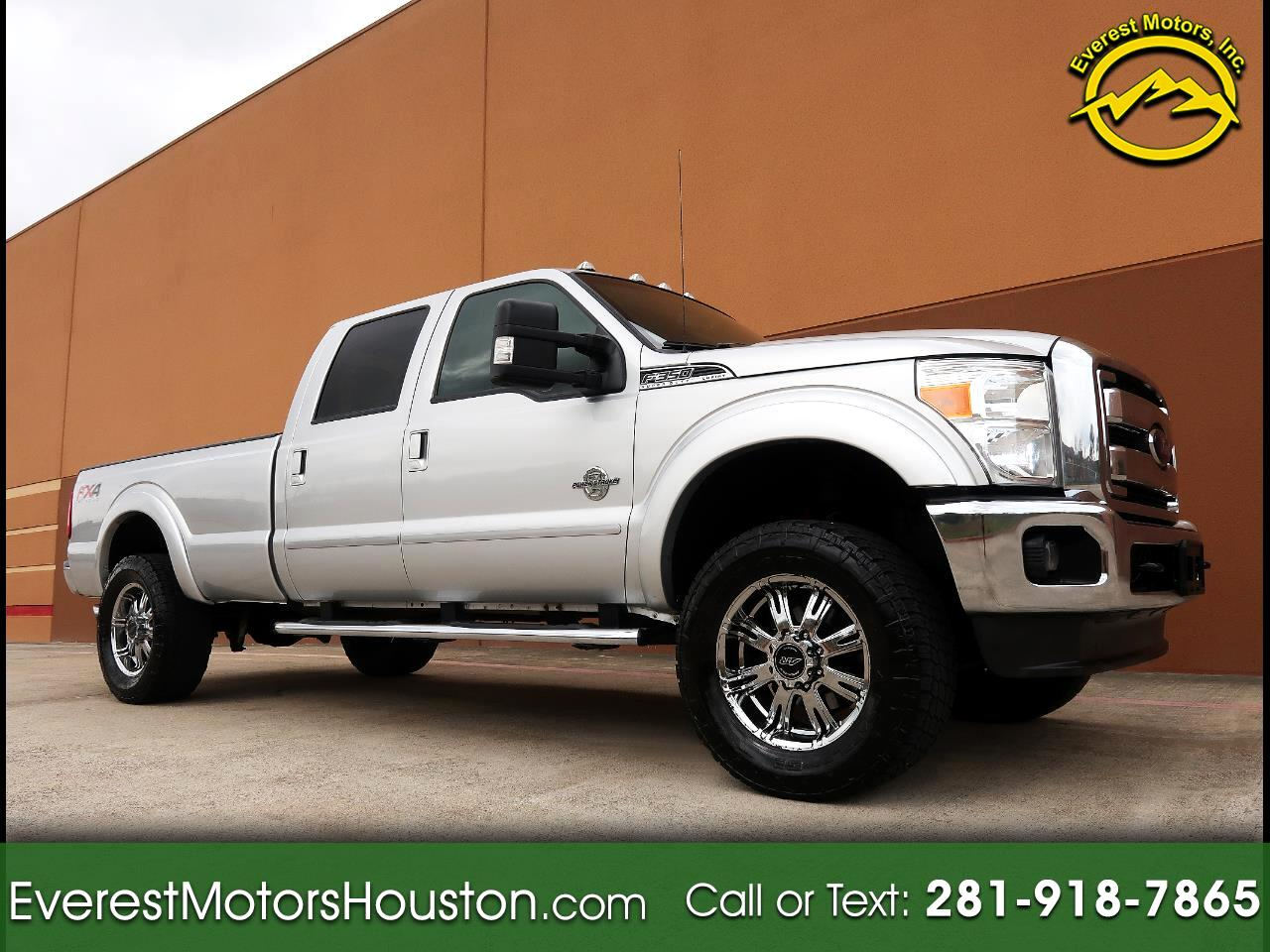 2012 Ford F-350 SD LARIAT CREW CAB LONG BED 4WD NAV CAM DVD