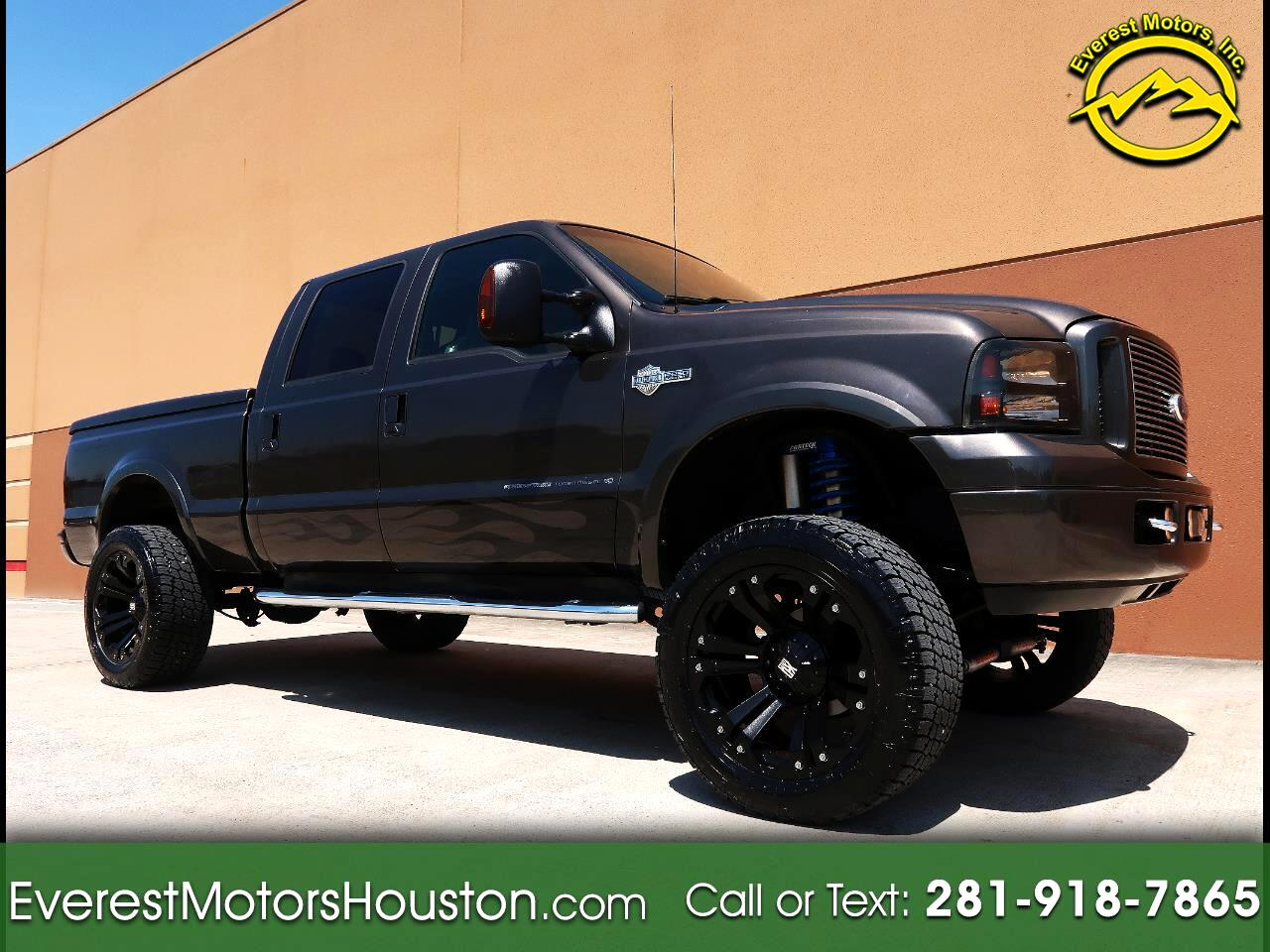 2007 Ford F-250 SD HARLEY DAVIDSON CREW CAB SHORT BED 4WD