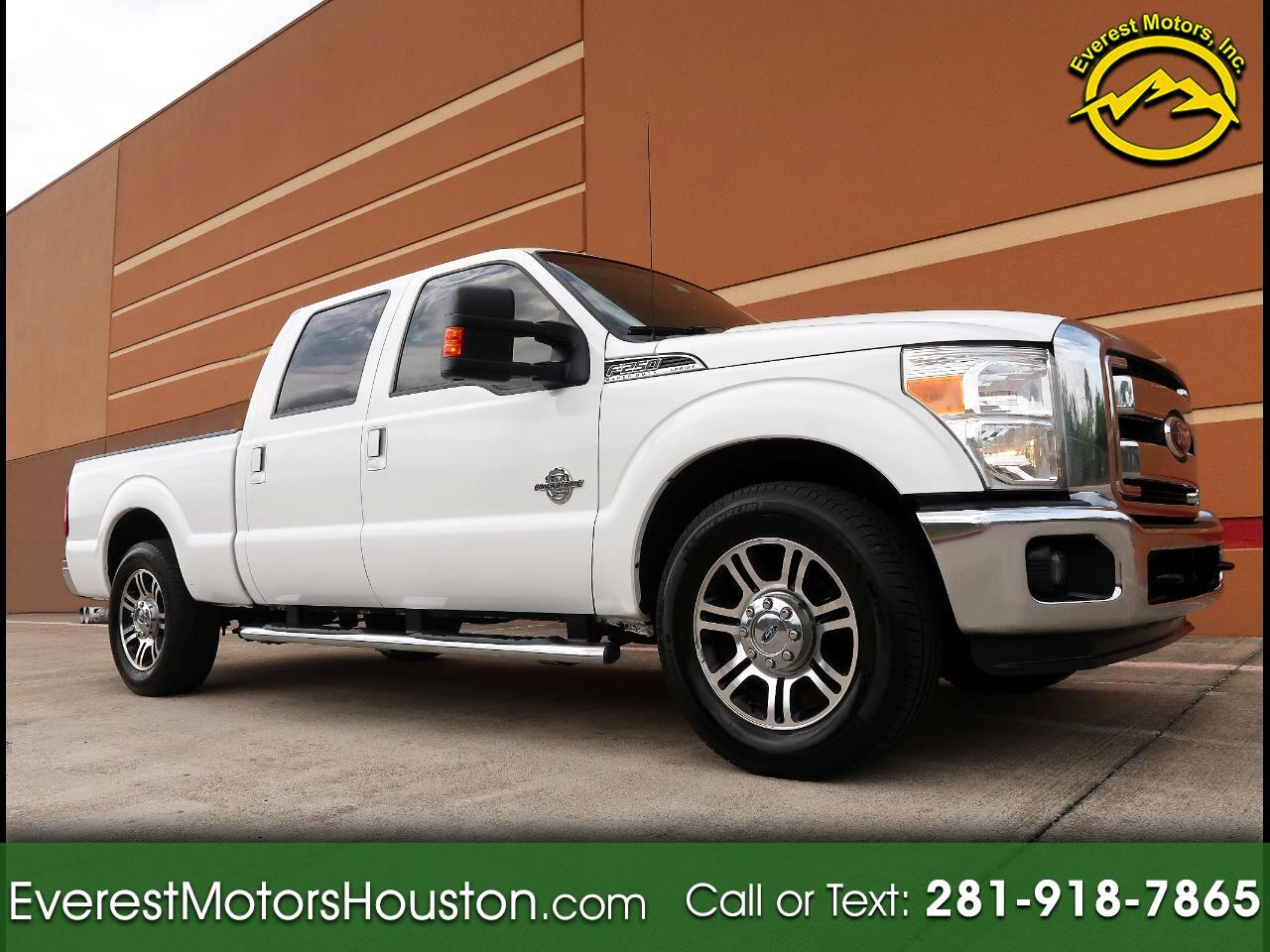 2011 Ford F-250 SD LARIAT CREW CAB SHORT BED 2WD