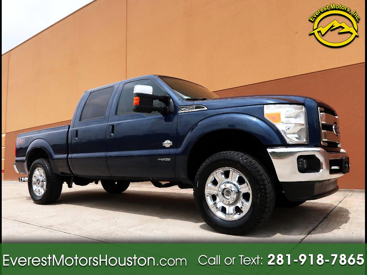 2015 Ford F-250 SD KING RANCH CREW CAB SHORT BED 4WD NAV CAM