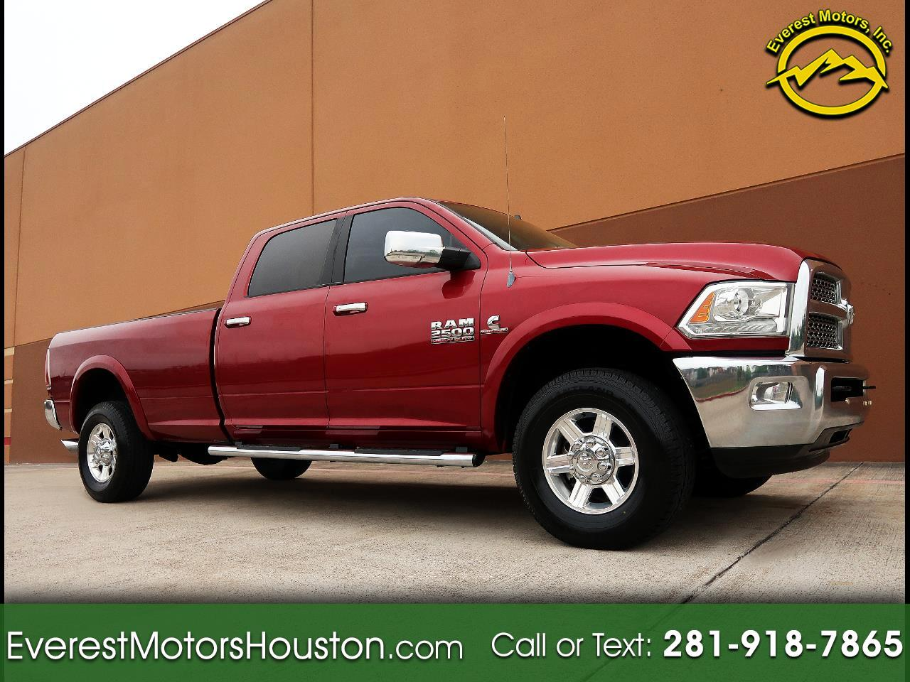 2013 Dodge Ram 2500 LARAMIE CREW CAB LONG BED 4WD NAV CAM LOADED
