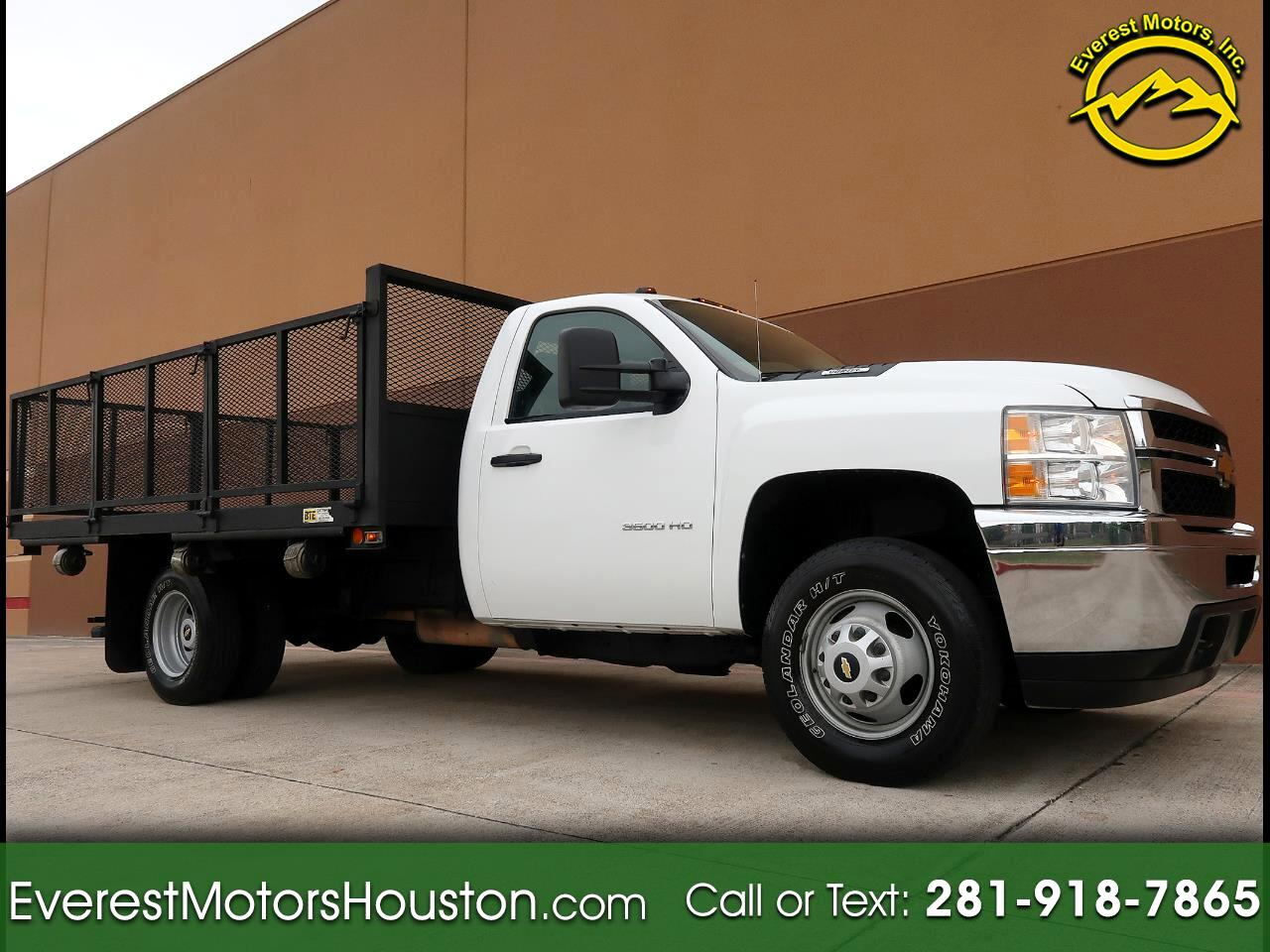 2012 Chevrolet Silverado 3500HD CHASSIS AND CAB WORK TRUCK LONG BED 2WD