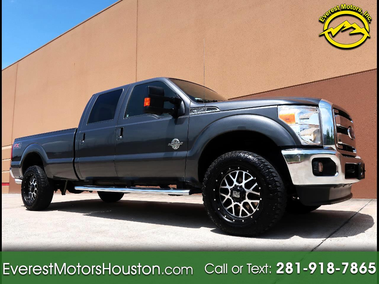 2015 Ford F-350 SD LARIAT CREW CAB LONG BED NAV CAM ROOF