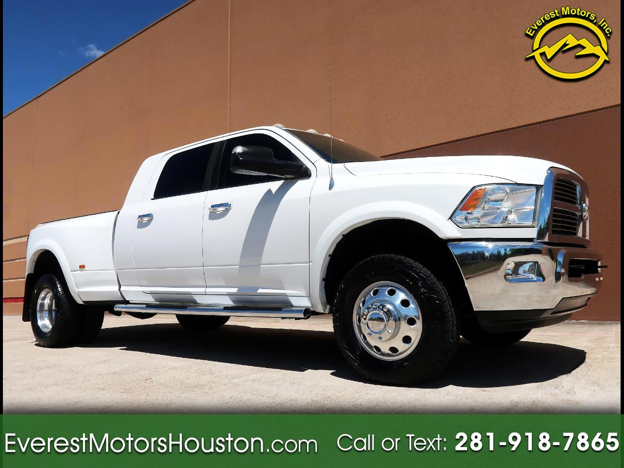 2012 Dodge Ram 3500 LIMITED MEGA CAB SHORT BED 4WD NAV CAM ROOF