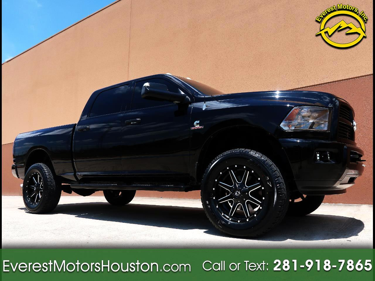 2012 Dodge Ram 2500 ST CREW CAB SHORT BED 4WD