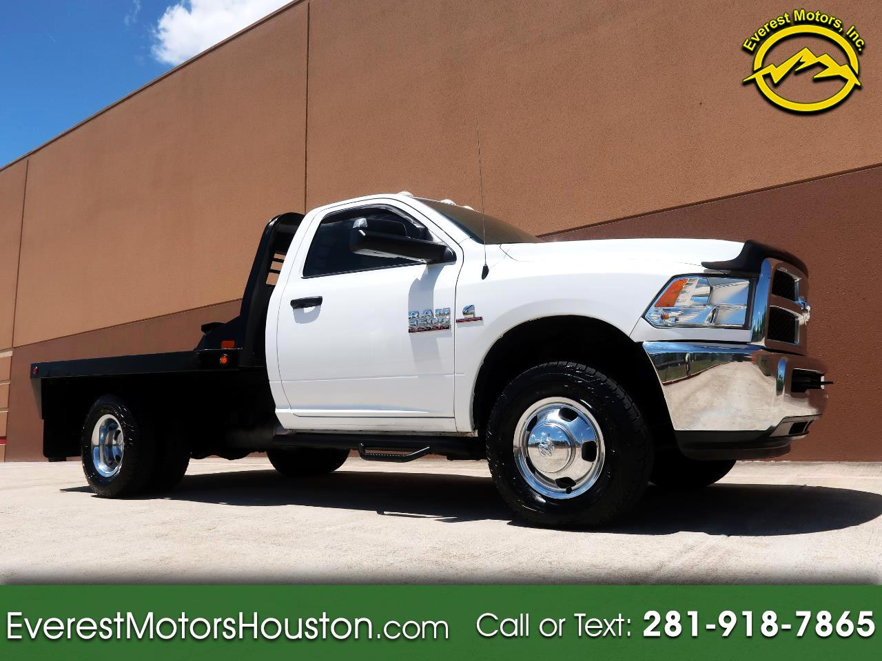 2015 Dodge Ram 3500 TRADESMAN REGULAR CAB LWB 4WD DRW FLAT BED