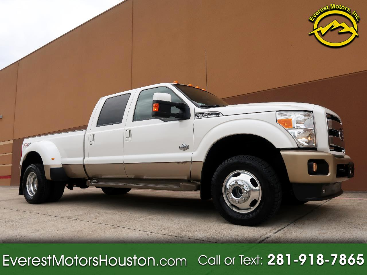 2014 Ford F-350 SD KING RANCH CREW CAB LONG BED 4WD LOADED