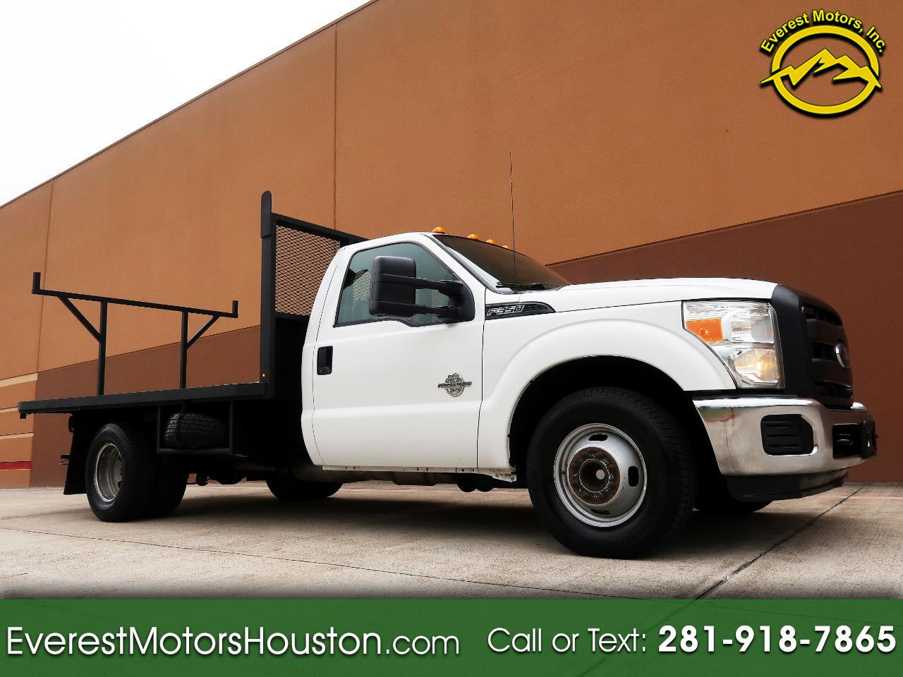 2015 Ford F-350 SD XL CHASSIS AND CAB DRW 2WD LONG AND FLAT BED