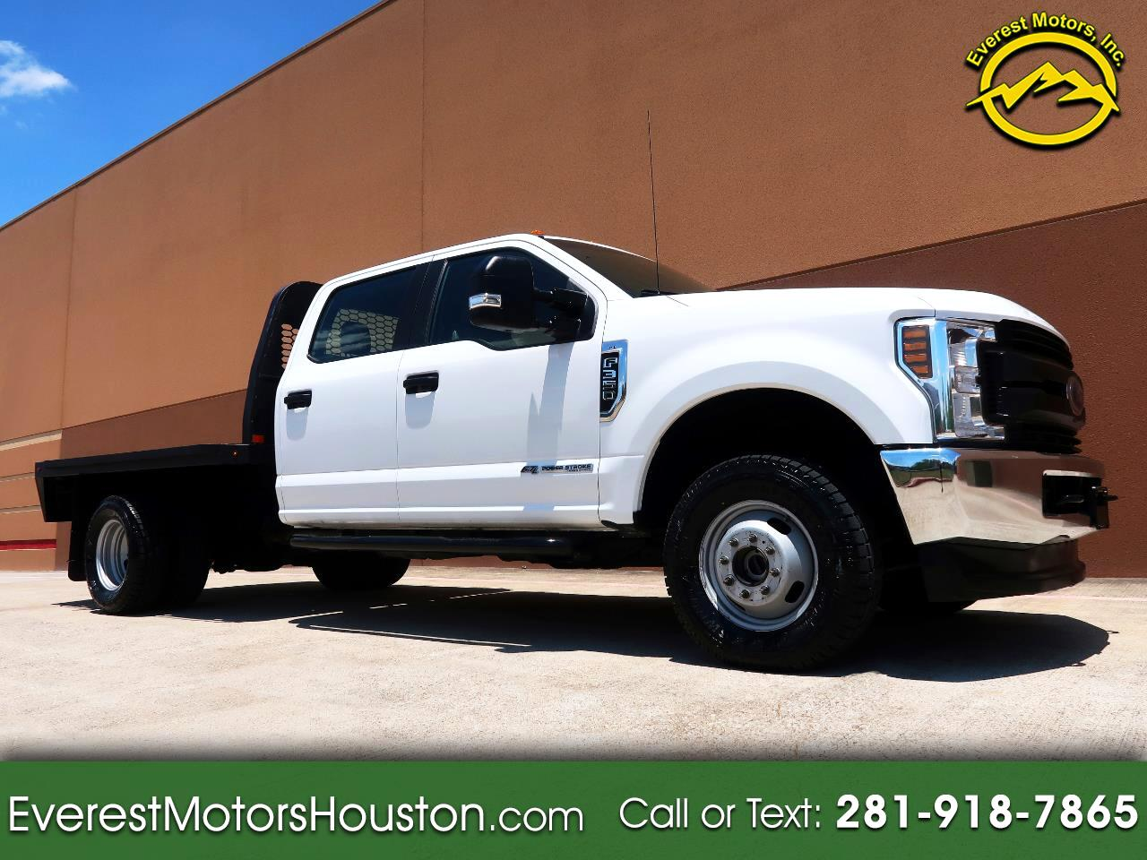 2018 Ford F-350 SD XL CREW CAB LONG BED DUALLY 4WD FLAT BED
