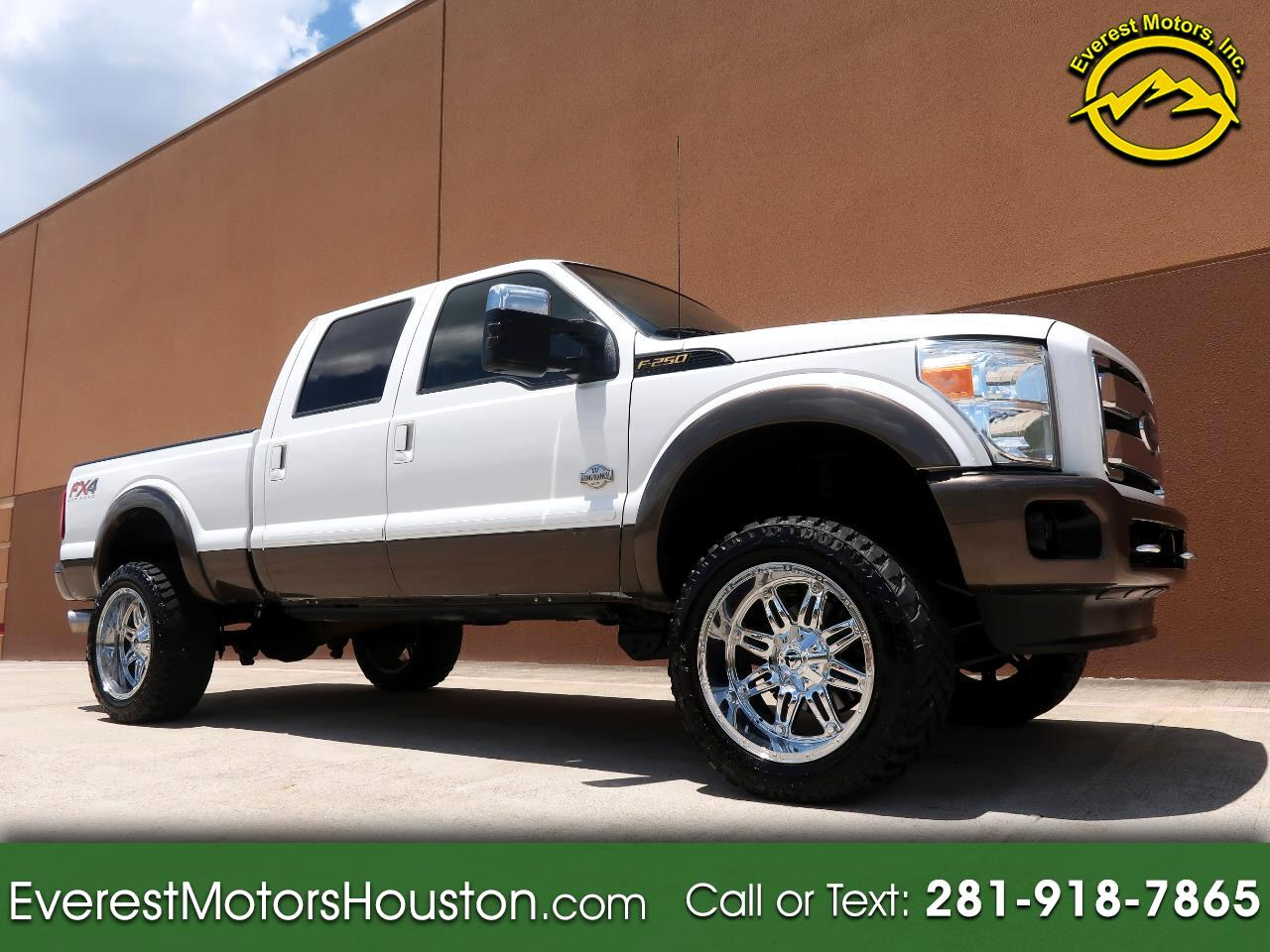 2015 Ford F-250 SD KING RANCH CREW CAB SHORT BED 4WD LOADED