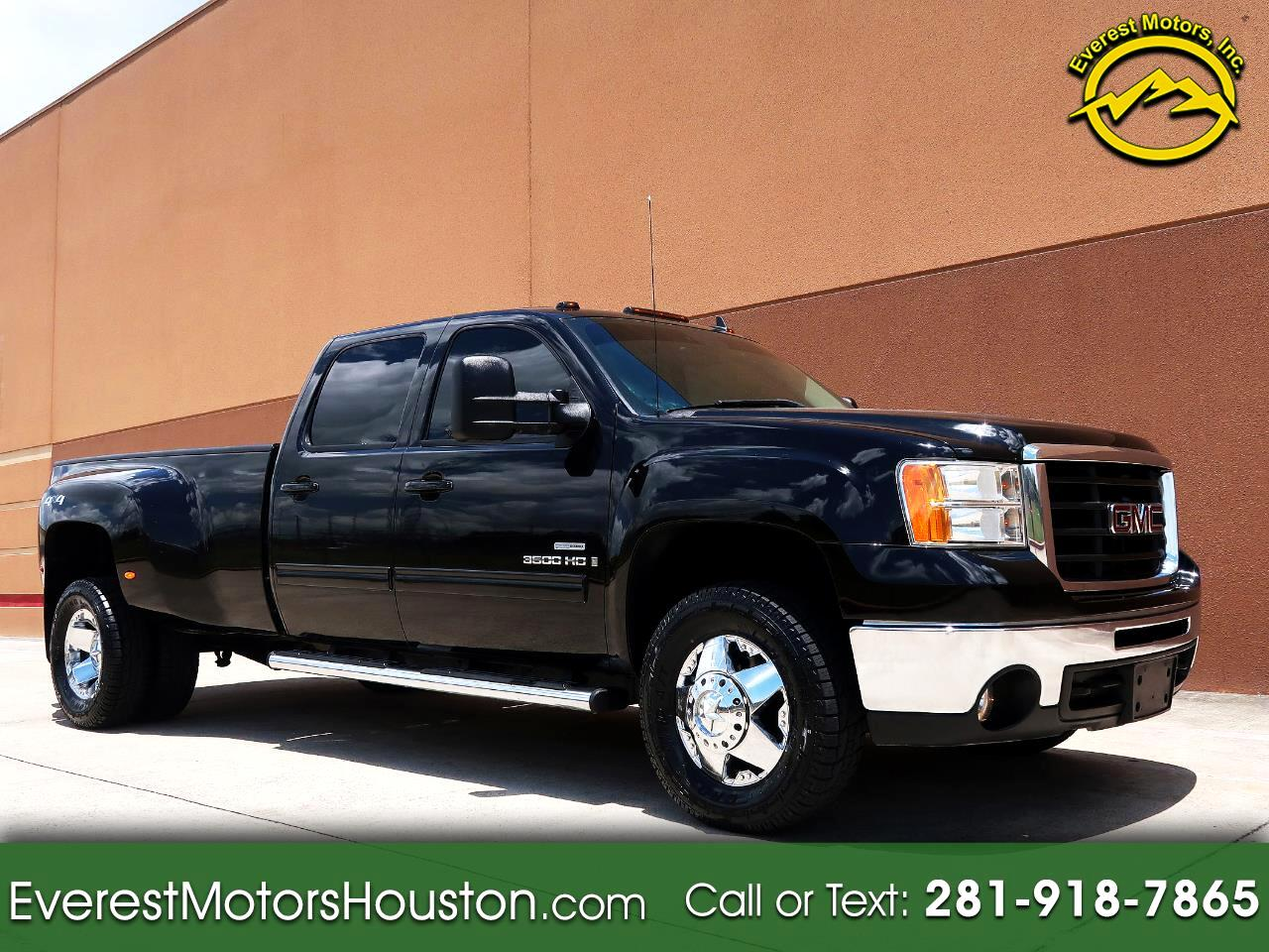 2009 GMC Sierra 3500HD SLT Crew Cab DRW 4X4 Long Bed