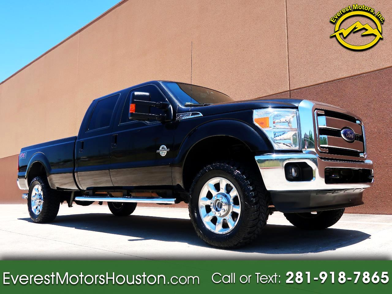 2015 Ford F-350 SD LARIAT CREW CAB LONG BED 4WD DIESEL