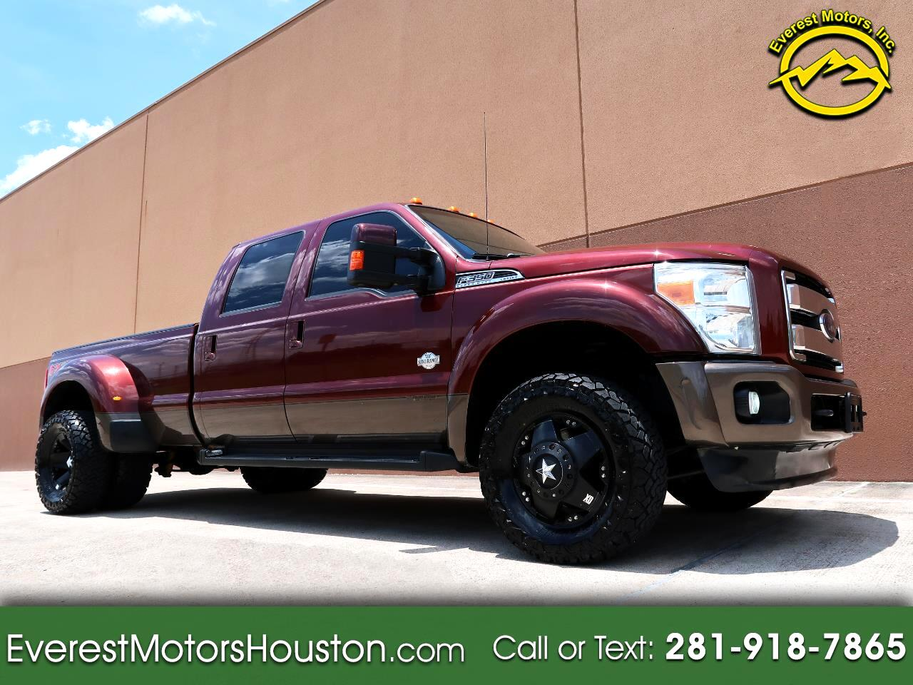 2015 Ford F-350 SD KING RANCH CREW CAB LONG BED 4WD DIESEL