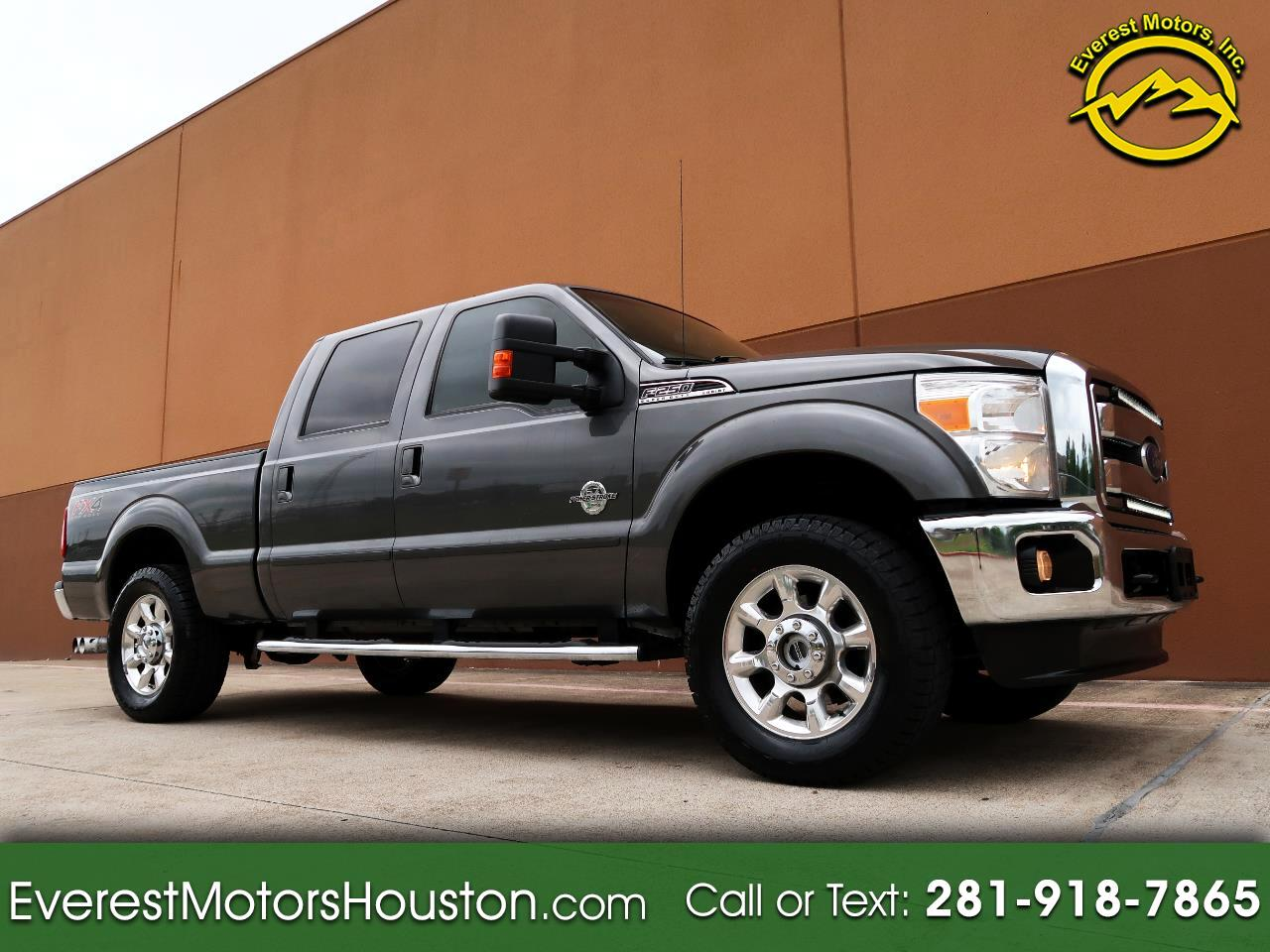 2015 Ford F-250 SD LARIAT CREW CAB SHORT BED 4WD DIESEL LOADED