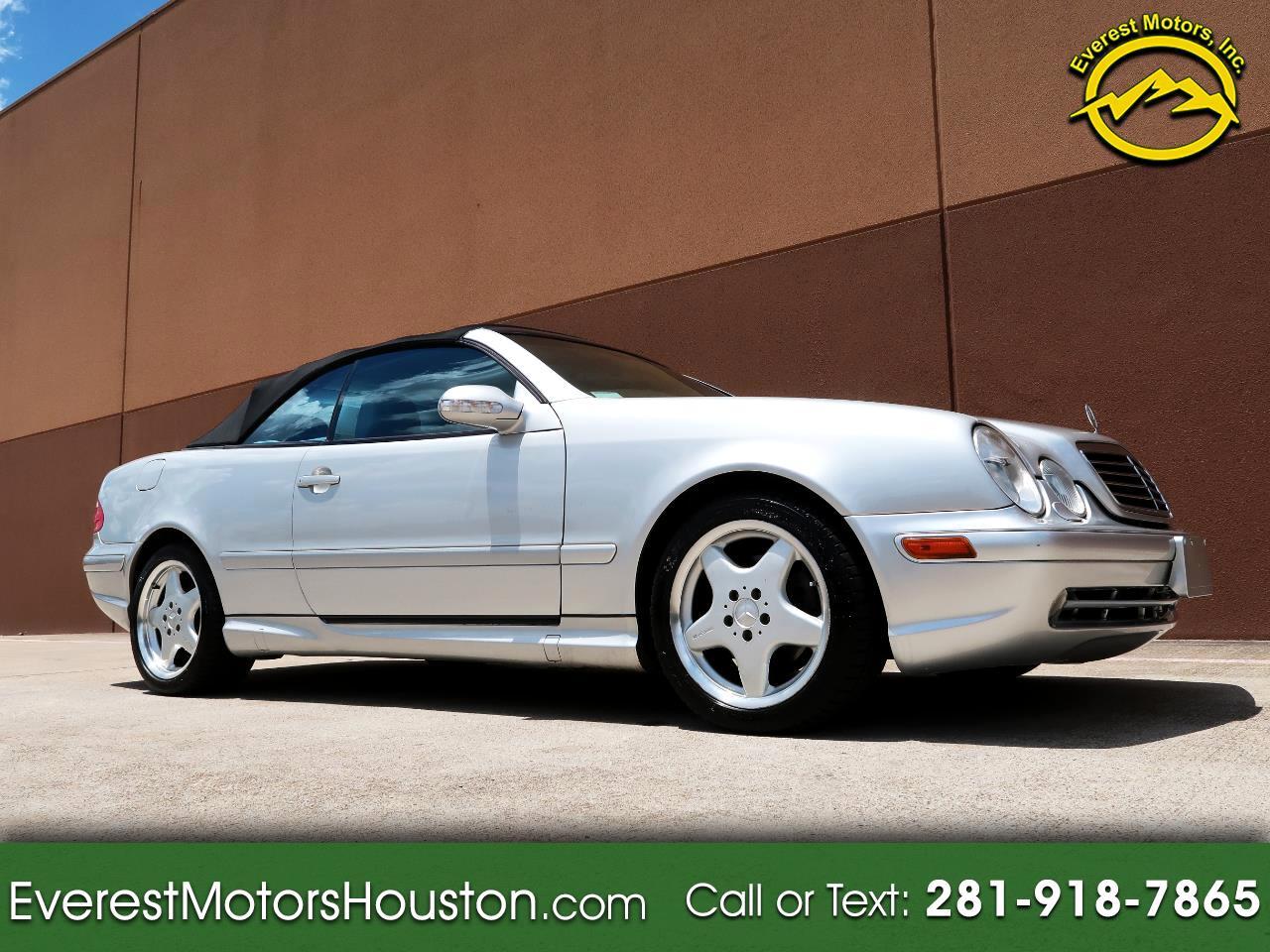 2001 Mercedes-Benz CLK-Class CLK430 CONVERTIBLE ***LOW MILES***