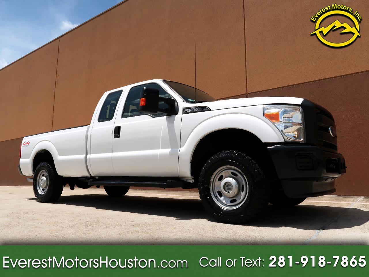 2015 Ford F-250 SD XL SUPERCAB 4WD GASOLINE LONG BED