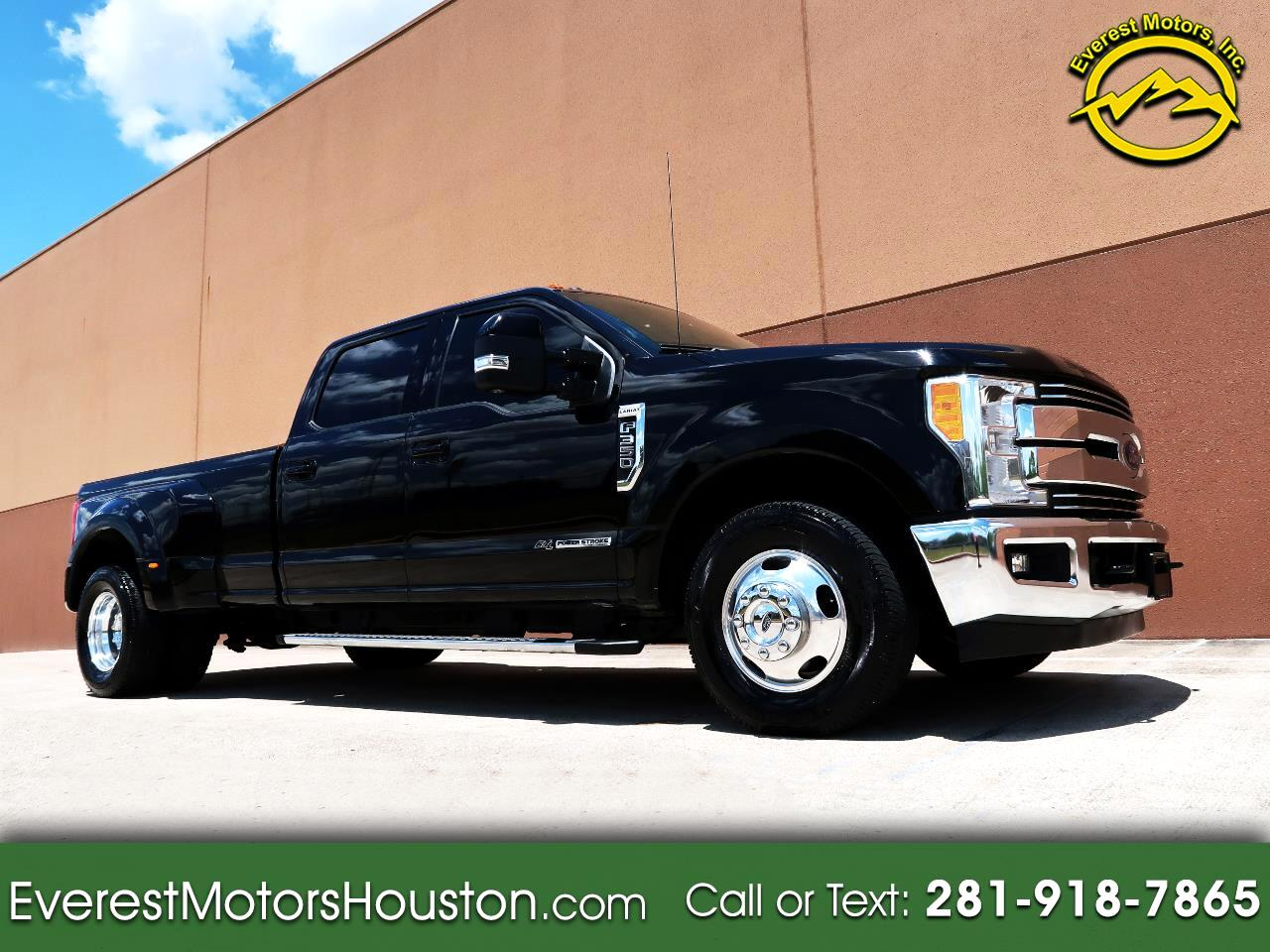 2017 Ford F-350 SD LARIAT CREW CAB LONG BED 2WD DIESEL NAV CAM