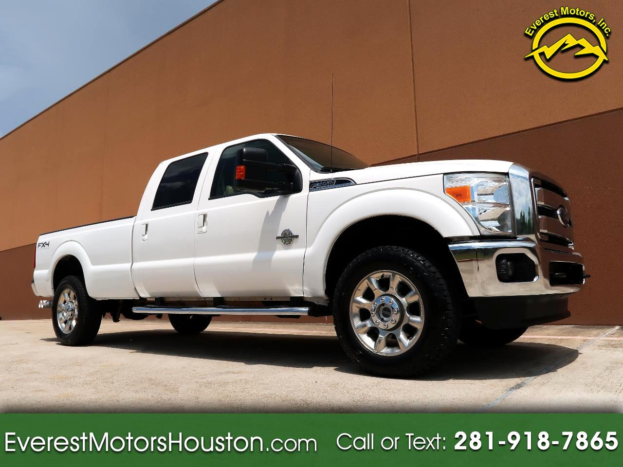 2016 Ford F-350 SD LARIAT CREW CAB LONG BED 4WD DIESEL