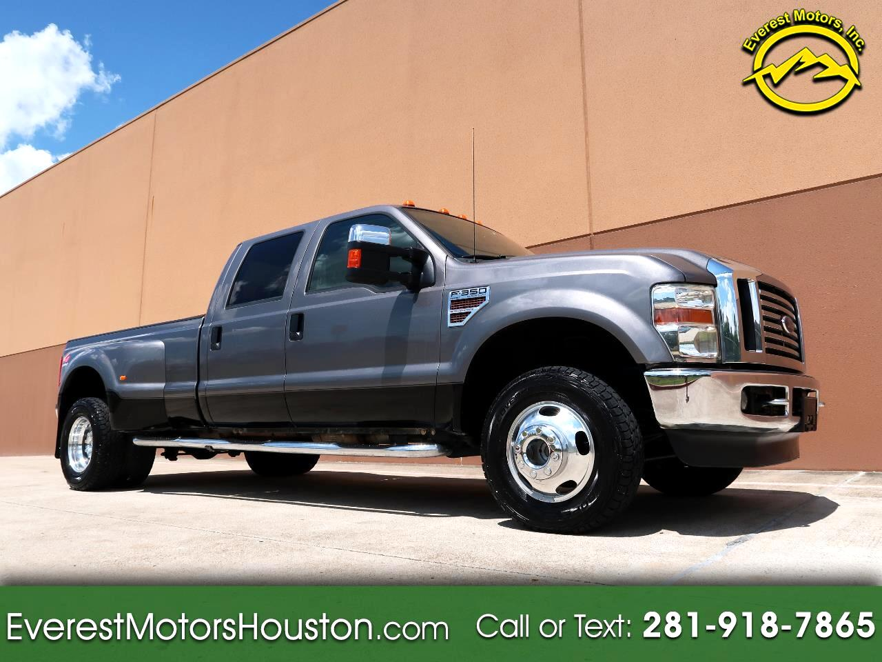 2009 Ford F-350 SD LARIAT CREW CAB LONG BED 4WD DIESEL DRW