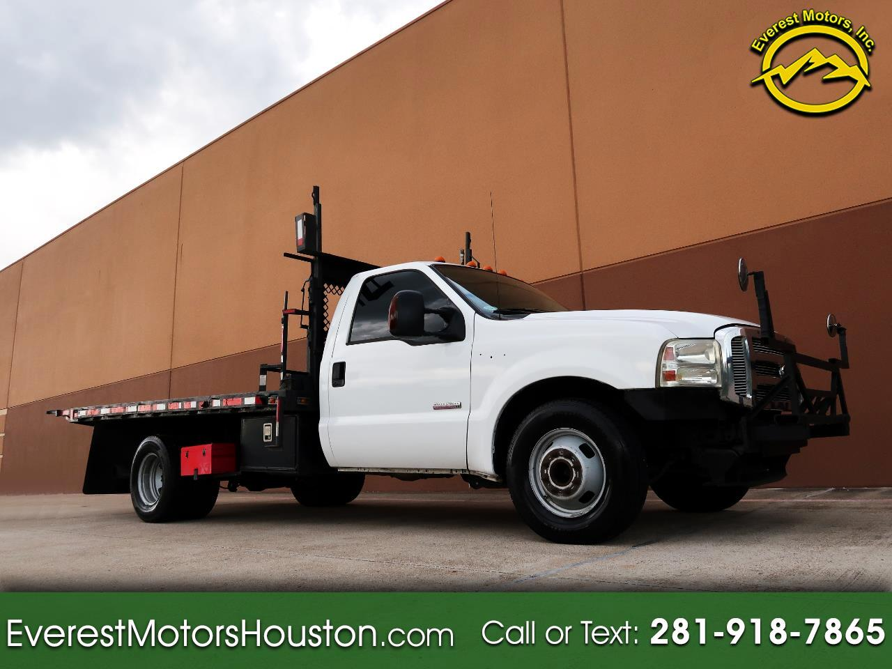 2007 Ford F-350 SD XL DRW 2WD STUDDED FLAT BED DIESEL