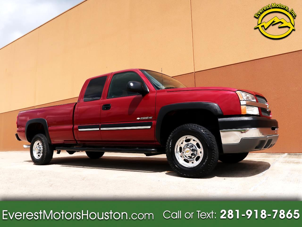 2004 Chevrolet Silverado 2500HD SL EXT.CAB LONG BED GASOLINE 2WD