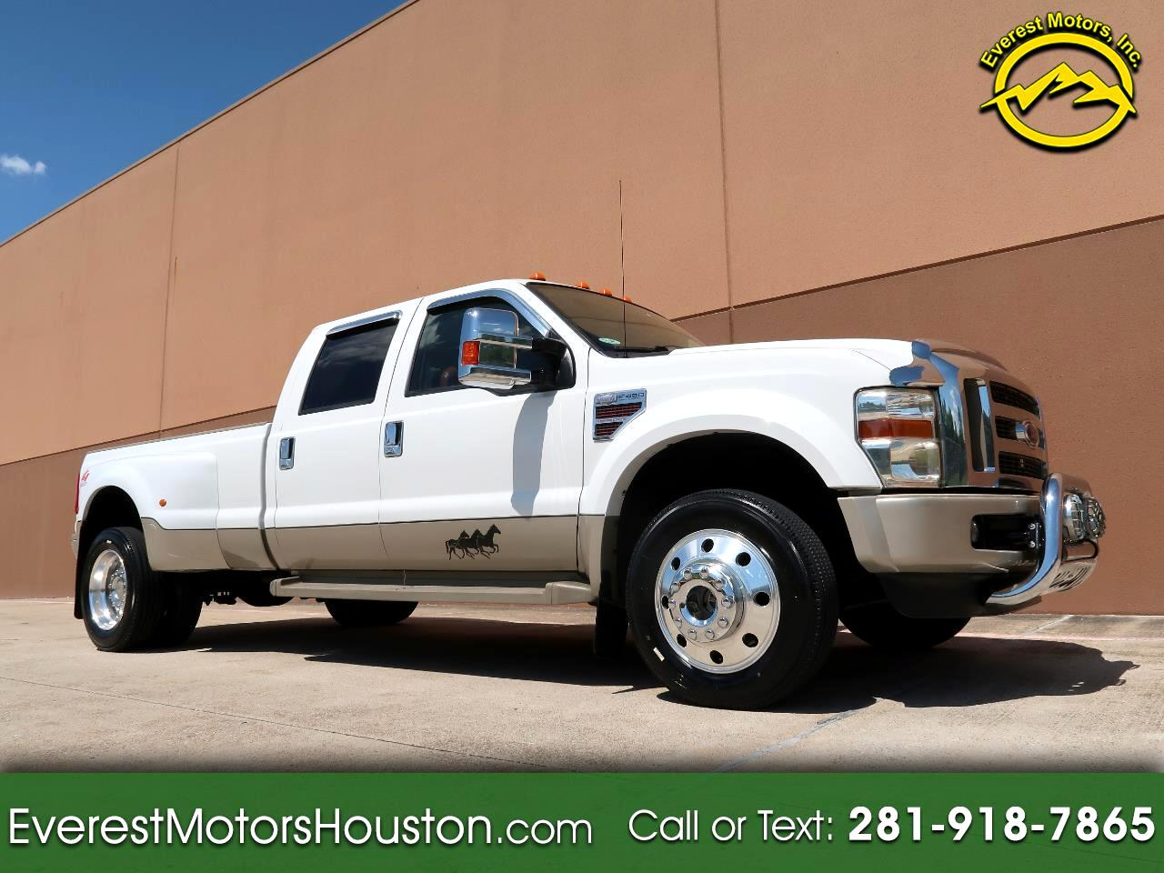 2008 Ford F-450 SD KING RANCH CREW CAB LWB DRW 4WD DIESEL