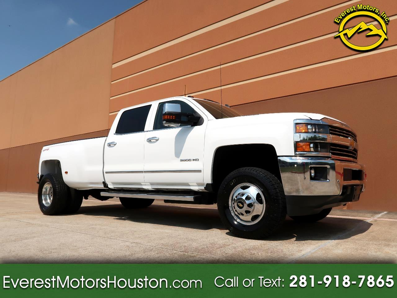 2015 Chevrolet Silverado 3500HD LTZ CREW CAB LONG BED DIESEL 4WD