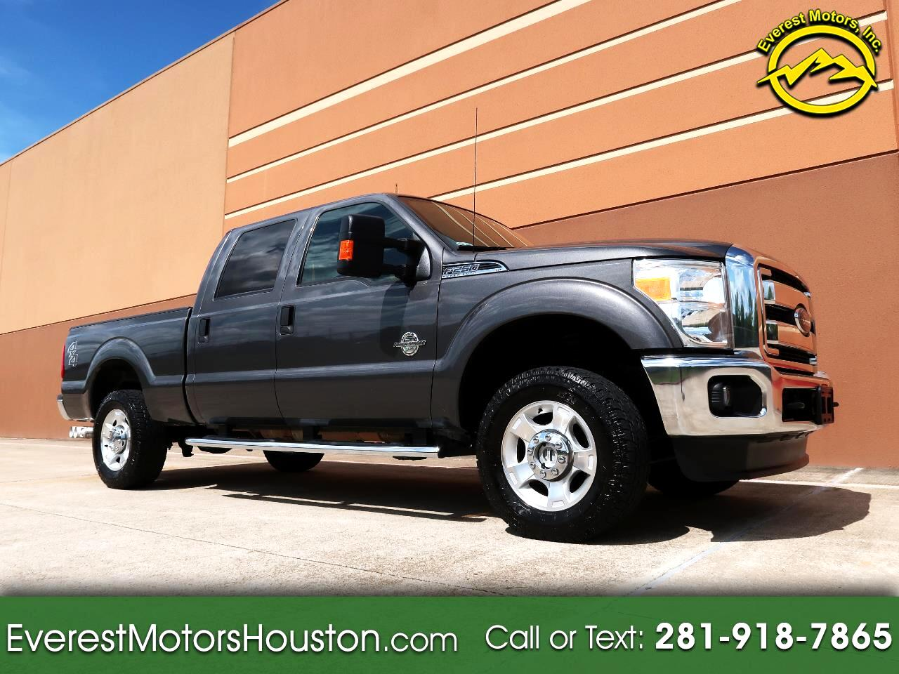 2016 Ford F-250 SD XLT CREW CAB SHORT BED 4WD DIESEL
