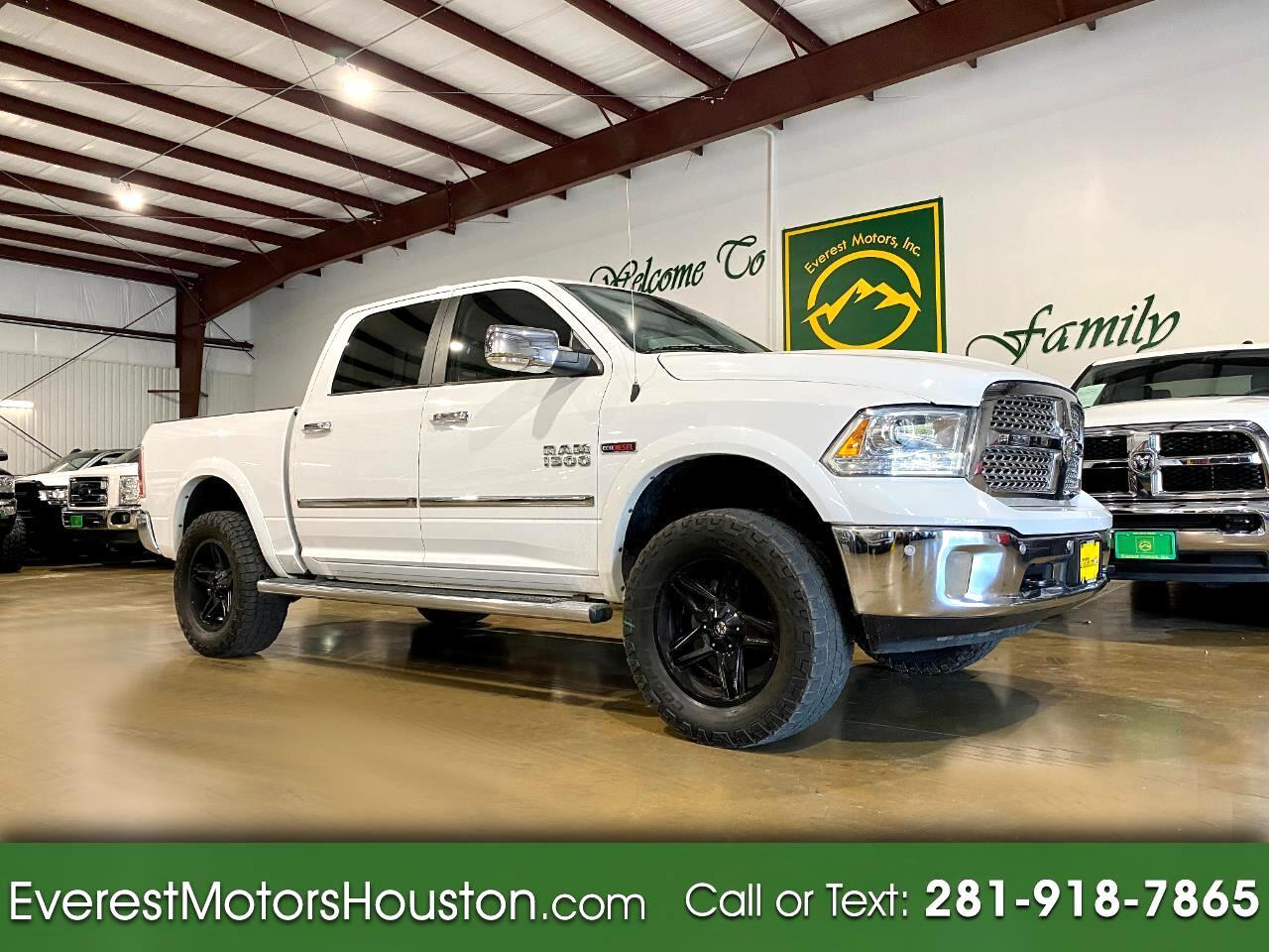 Used 2015 Dodge Ram 1500 Laramie Crew Cab 4x2 Diesel For Sale In Houston Tx 77031 Everest Motors Inc